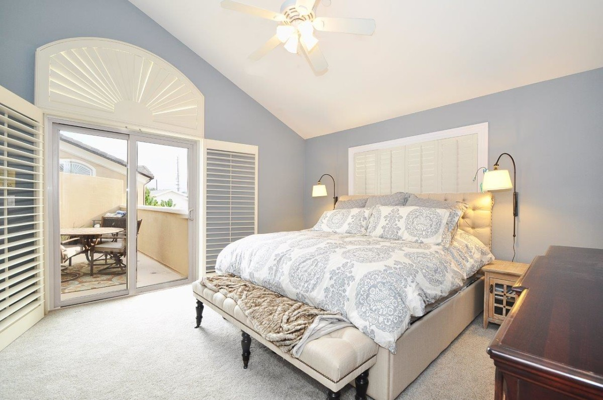 the 2 additional bedrooms enjoy the same quality details such as lush newer carpeting trims and high quality lighting fixtures